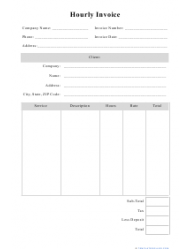 working hours log template