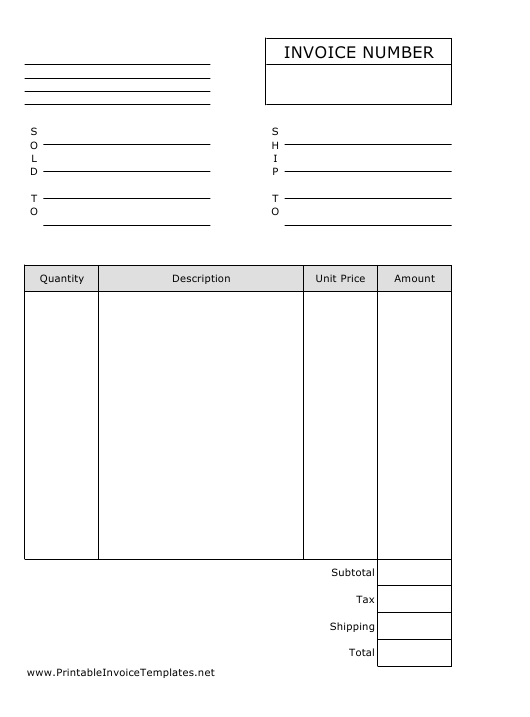 """""""Invoice Spreadsheet Template"""" Download Pdf"""