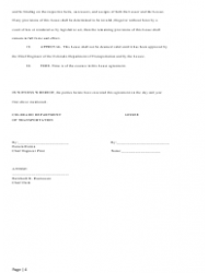 """Mobile Home, House, or Space Lease Agreement Form"" - Colorado, Page 4"