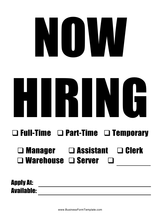 """""""New Hire Announcement Sign Template"""" Download Pdf"""