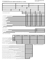Form 622 Stc Segregated Cost Computation Sheet (S.f. Costs) - Michigan