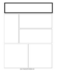 Blank Newsletter Template