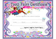 """Tooth Fairy Certificate Template"""