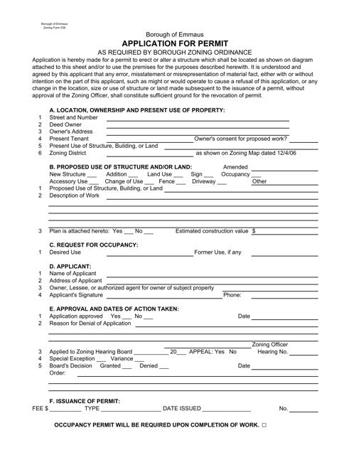 Form 539  Printable Pdf