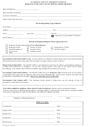 Request for Copy of Incident/Crime Report - Alameda County Sheriff's Office - Alameda county, California
