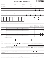 Employment Application Form - Opportunities Brewin