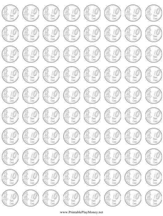 """10 Euro Cent Templates"" Download Pdf"
