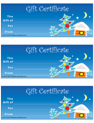 """Gift Certificate Template"""