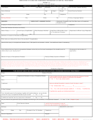 "Form C-4 ""Employee's Claim for Compensation/Report of Initial Treatment"" - Nevada"