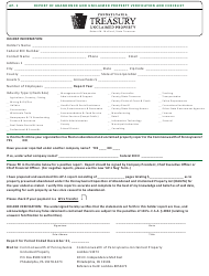 """Form Ap-1 """"Report of Abandoned and Unclaimed Property - Verification and Checklist"""" - Pennsylvania"""