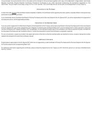 """Form AS2916.1 """"Certificate for Exempt Purchases and for Services Subject to the 4% Special-Sut"""" - Puerto Rico, Page 4"""