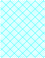 Cyan 1 Cm Quilt Grid Graph Paper Template