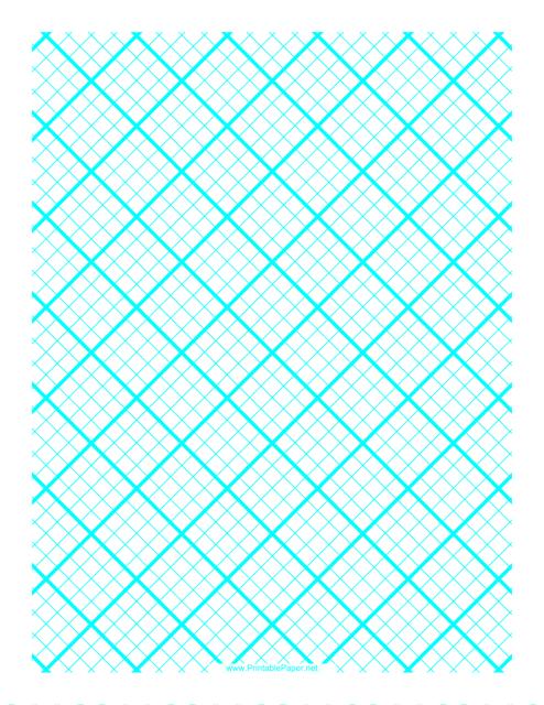 """""""Cyan 1 Cm Quilt Grid Graph Paper Template"""" Download Pdf"""
