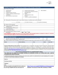 "Form UCE-151 ""Employer Status Report"" - South Carolina, Page 3"