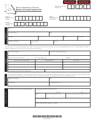 "Form MO-TF ""Missouri Tax Credit Transfer Form"" - Missouri"