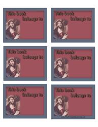 """Religious Bookplate Templates"""