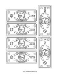 20 Dollar Bill Templates Download Printable Pdf Templateroller