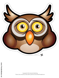 """Owl Mask Template"""
