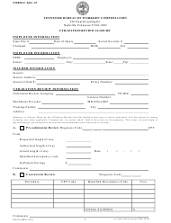 "Form C-36 (C-37; LB-0375) ""Utilization Review Closure"" - Tennessee"