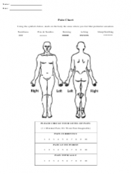 Body Pain Chart Template