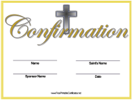 """""""Name Change Confirmation Certificate Template"""""""
