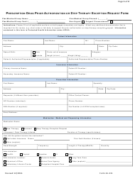 Form 61-211 Prescription Drug Prior Authorization or Step Therapy Exception Request Form - Express Scripts