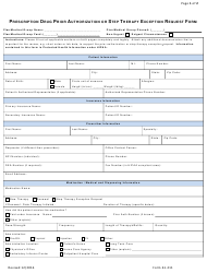 """Form 61-211 """"Prescription Drug Prior Authorization or Step Therapy Exception Request Form - Express Scripts"""""""