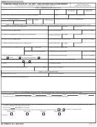 DA Form 67-10-1 Company Grade Plate (O1 - O3; Wo1 - Cw2) Officer Evaluation Report