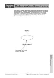 """Economic Development Worksheet"", Page 51"
