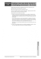 """Economic Development Worksheet"", Page 52"