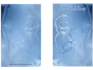 """Newborn Baby Greeting Card Template"""