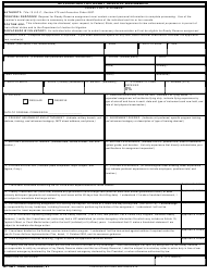 AF IMT Form 1288 Application for Ready Reserve Assignment