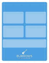 """Weekly Guitar Practice Log Template - Burrows Guitar Academy"""