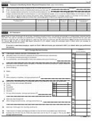 IRS Form 2555 2017 Foreign Earned Income, Page 2