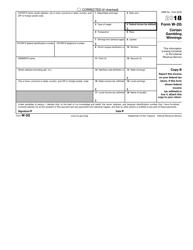 IRS Form W-2g 2018 Certain Gambling Winnings, Page 3