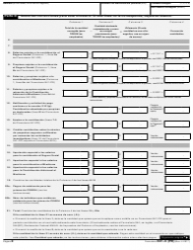 """IRS Formulario 941-X (PR) """"Ajuste a La Declaracion Federal Trimestral Del Patrono O Reclamacion De Reembolso"""" (Puerto Rican Spanish), Page 2"""