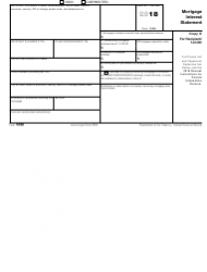 IRS Form 1098 2018 Mortgage Interest Statement, Page 5