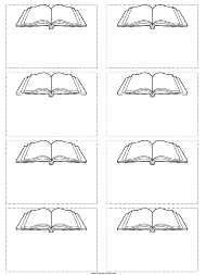 """Book Name Tag Template"""