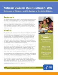"""National Diabetes Statistics Report"", 2017"