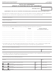 "Form Cms-R-0235u ""Agreement for Use of Centers for Medicare & Medicaid Services (Cms) Data"""