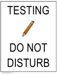 do not disturb wildlife sign template download printable pdf