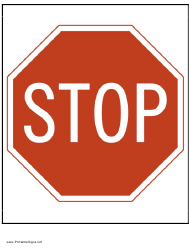 """""""Stop Sign Template"""""""