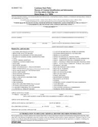 "Form 6696 ""Authorization to Disclose Criminal History Records Information"" - Louisiana"