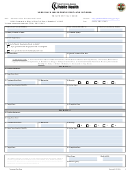 Substance Abuse Prevention and Control Treatment Plan Form - County of Los Angeles, California