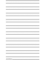 Three-Lined Paper