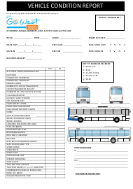 """Vehicle Condition Report Template - Cowest Tours"""