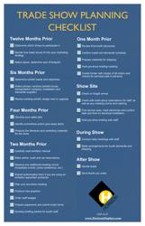 Trade Show Planning Checklist Template - Horizon