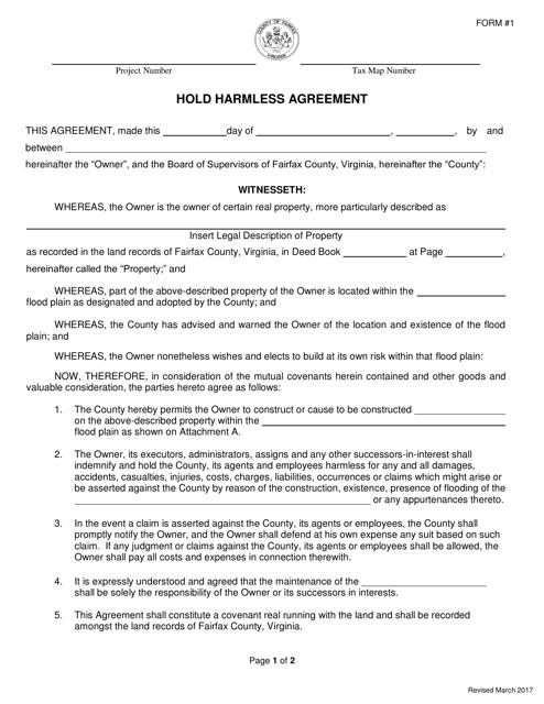 Form 1  Printable Pdf