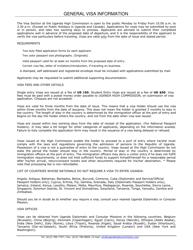 """Uganda Visa Application Form - High Commission of the Republic of Uganda"" - City of Ottawa, Ontario, Canada"
