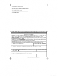DD Form 2868 Request for Withholding State Tax